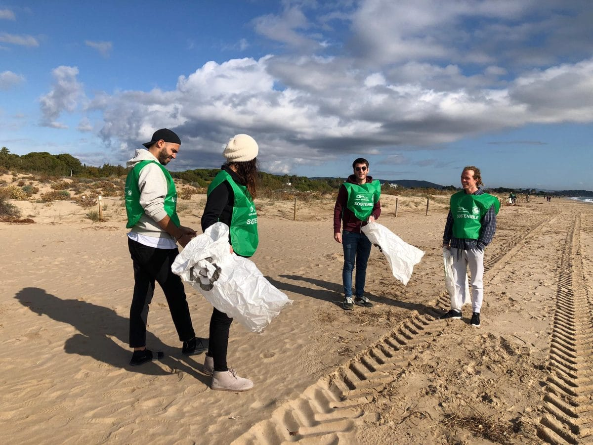 Neteja de platja Torredembarra