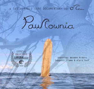 Paulownia surf movie