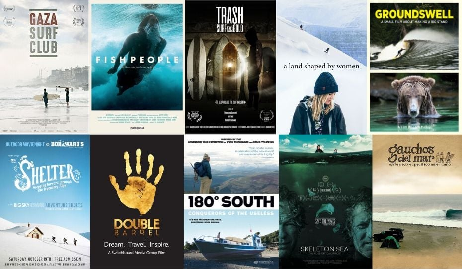 surf snow environmental movies